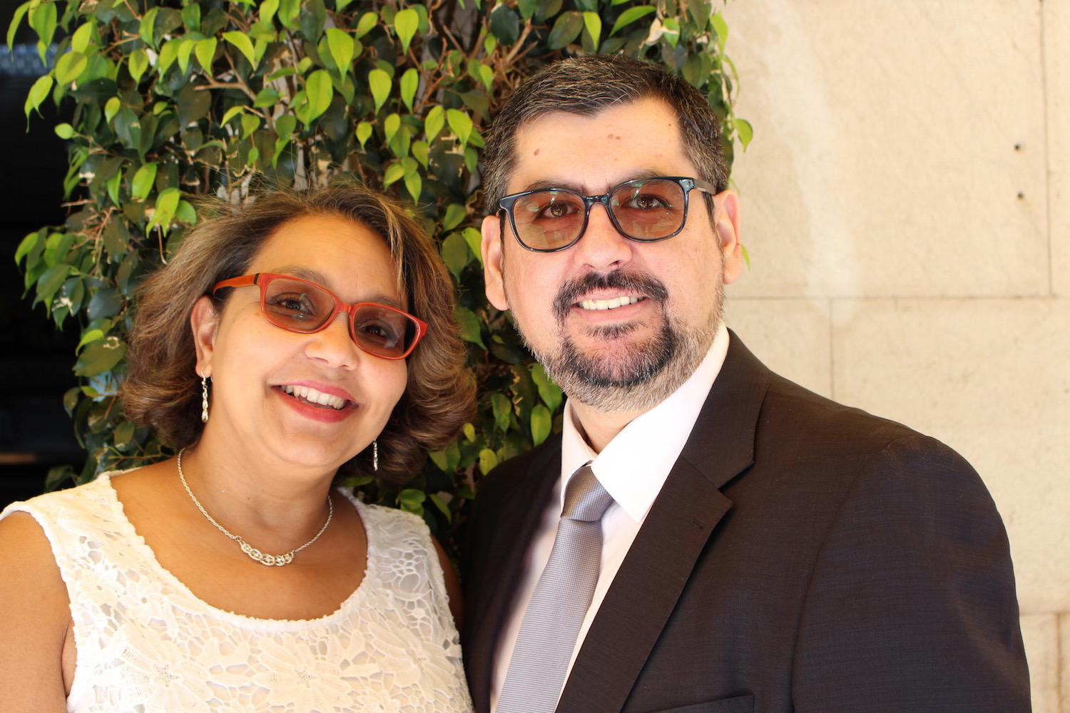 Liliana and Fernando Almeida