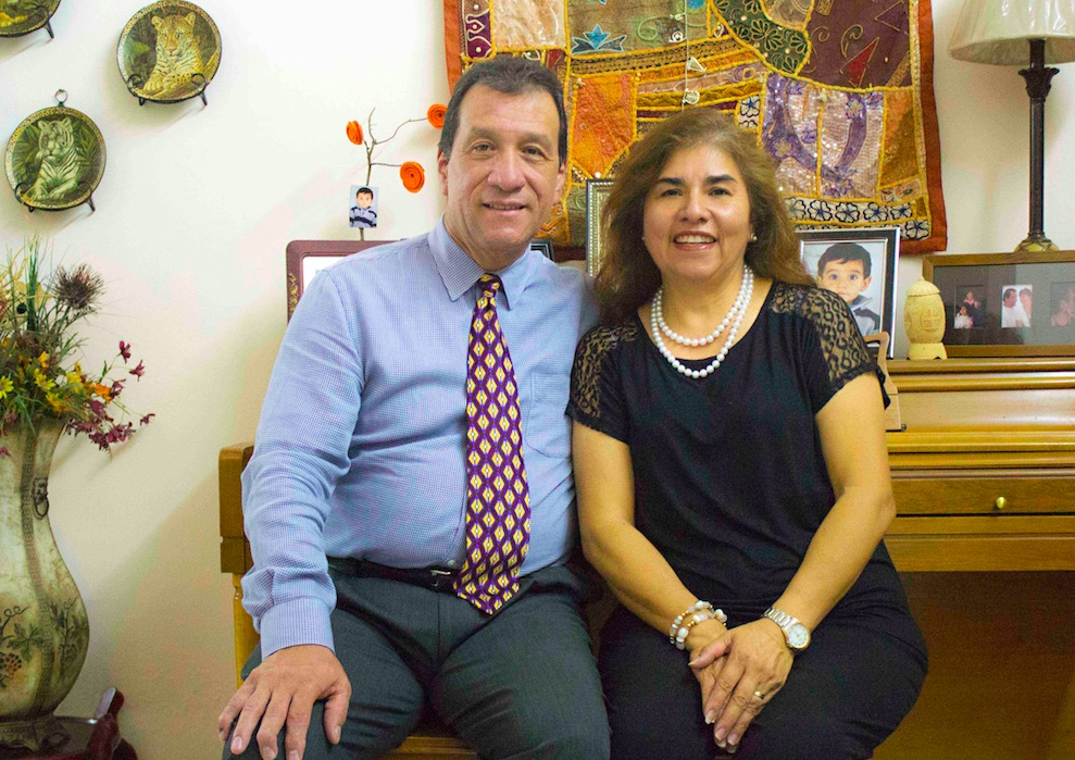 Jorge and Irma Córdova