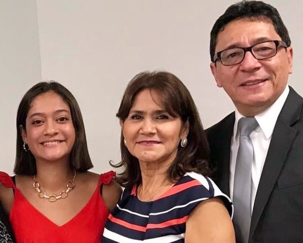 Jorge and Irma Julca