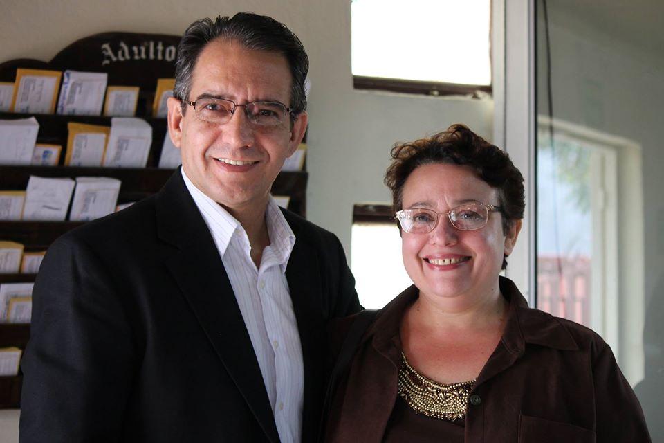 Rubén and Monica Fernandez