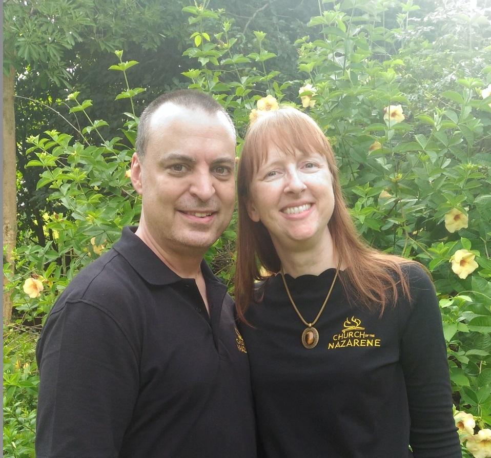 Stephen and Rebecca Barber