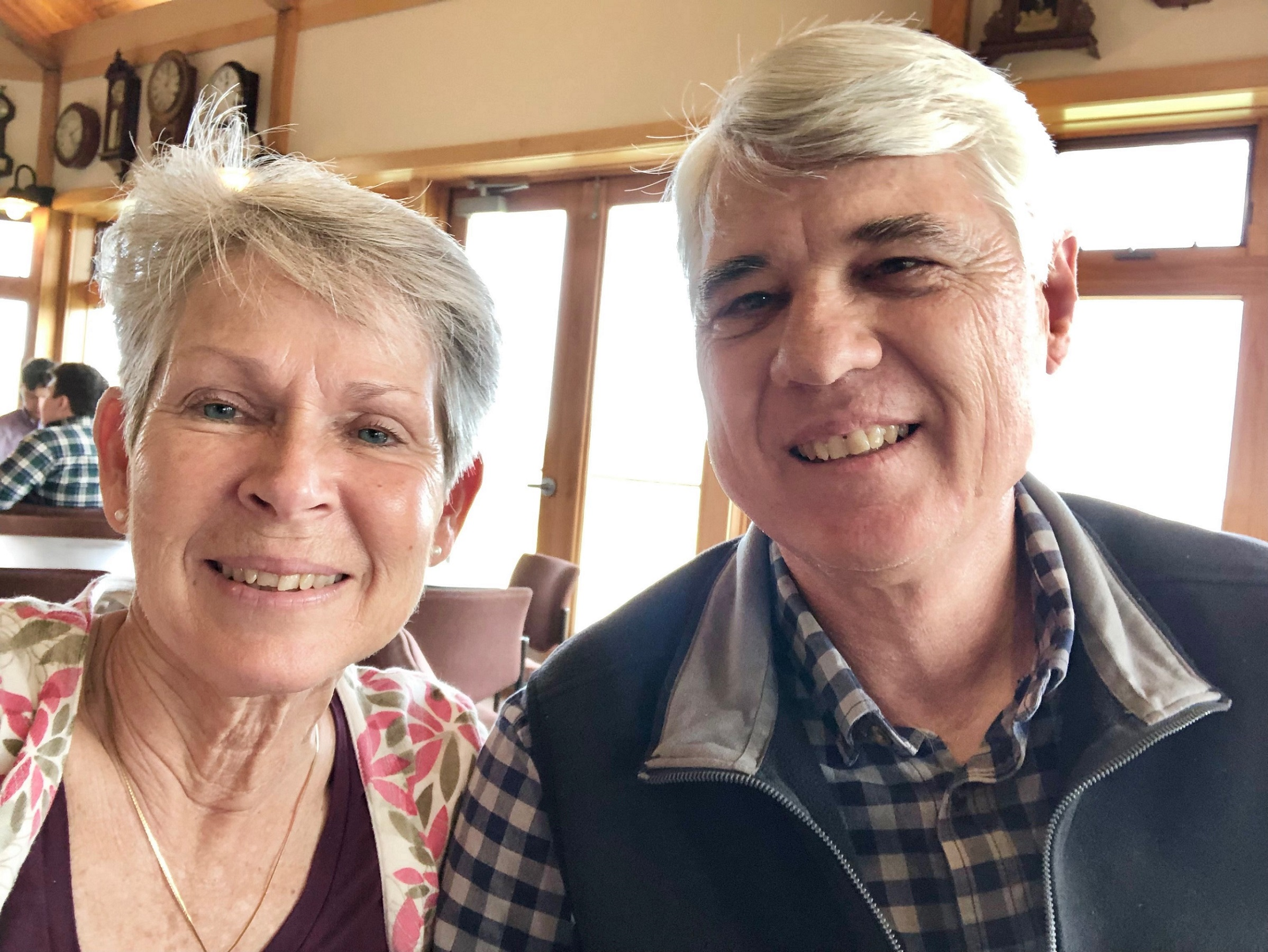 David and Sylvia Potter